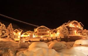Андорра снег